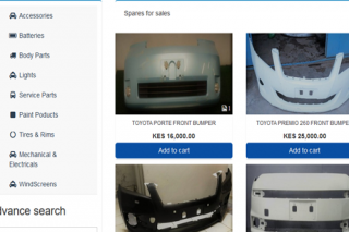 Car part listing, sell and buy script